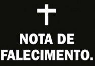Nota de pesar - José Miguel Oliveira Filho