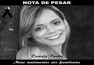 Nota de Pesar; advogada Daniely Bastos